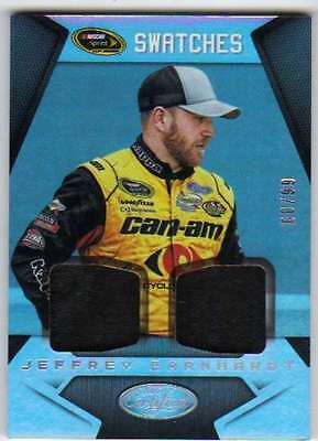 2016 Certified Racing Sprint Cup Swatches Mirror Silver /99 20 Jeffrey Earnhardt