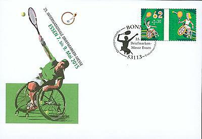 Germany PS cover o  disabled Tennis Paralympics hw11