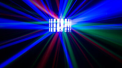 New Chauvet Kinta FX LED 3in1 Derby Laser Strobe Lighting Effect DJ Disco Club