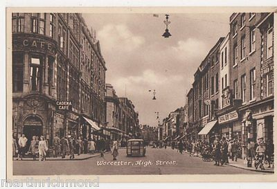 Worcester, High Street Postcard, B470