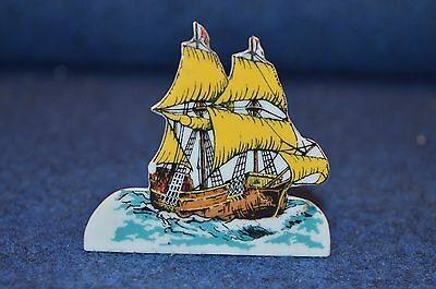 Lovely Vintage Wade Porcelain ''Snippet'' No 1 Mayflower Pilgrims America RD6770