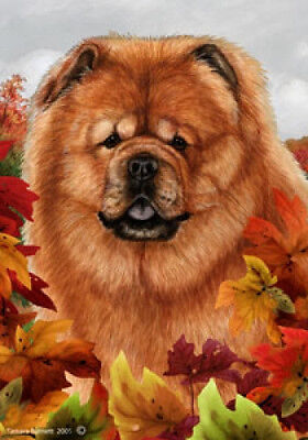 Garden Indoor/Outdoor Fall Flag - Chow Chow 131141