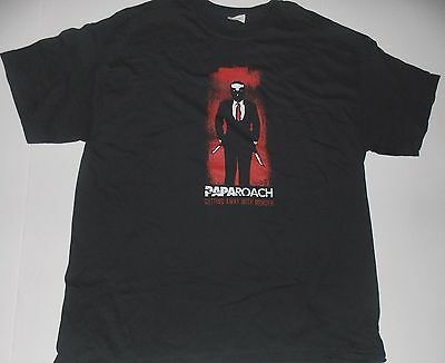 Papa Roach- NEW Getting Away With Murder T Shirt- XLarge SALE FREE SHIP TO U.S.!
