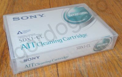 Sony SDX1-CL AIT Cleaning Cartridge for Data Backup Tape Drive New in Shrinkwrap
