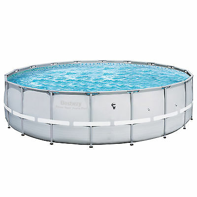 """Bestway 18' x 52"""" Power Steel Pro Frame Above Ground Swimming Pool (Pool Only)"""