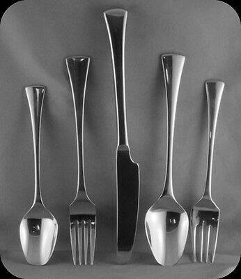International Galaxy Plain Stainless 18/8   5 Piece Place Setting