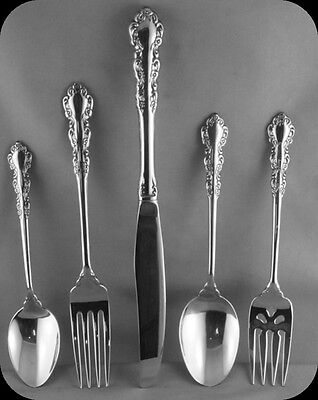 Oneida Shelley Stainless 5 Piece Place Setting