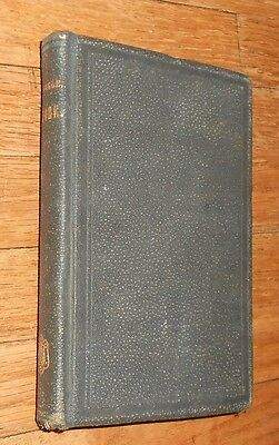 1869 Antique Medical Book Epitome of Homoeopathic Medicines Homeopathic Medicine