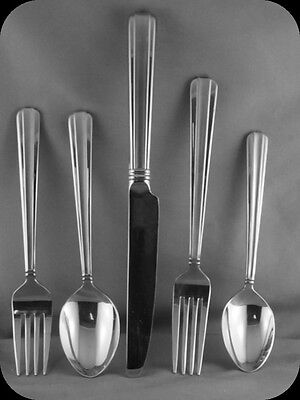 Reed & Barton Bellevue Stainless 5 Piece Place  Setting 18/8