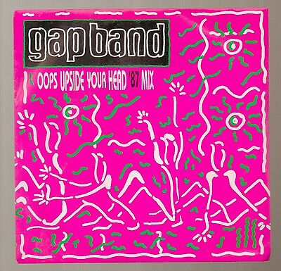 Gap Band - Oops Upside Your Head '87 Mix - Vinyl 45' Record