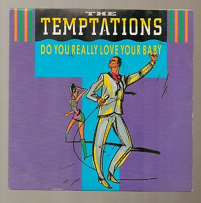 Temptations - Do You Really Love Your Baby - Vinyl 45' Record