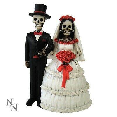 Nemesis Now Gothic -Eternally Yours - Wedding Cake Topper 13cm