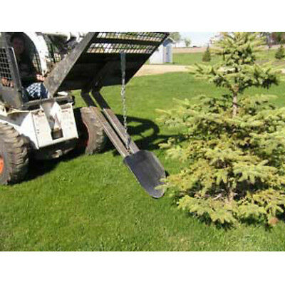 Quick Spade - Skid Steer Tractor Digger Trencher Loader FORK Attachment