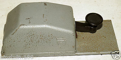 JUNKERS German cold war straight morse key on steel base QRP