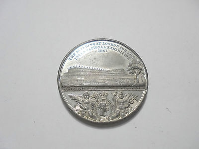 27111 Medaille 1851 medal Crystal Palace London Allen & Moore Exhibition 38mm