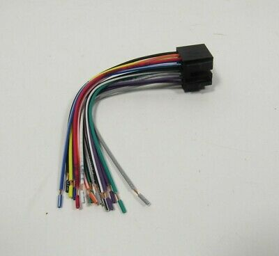 alpine 16 pin iso wiring harness loom adaptor wire radio connector wiring harness plugs select semi truck tractor radios volvo mack freightliner