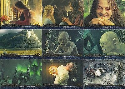 Lord Of The Rings Return Of The King Update 2004 Topps Base Card Set Of 72 Movie