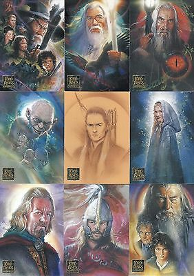 Lord Of The Rings Masterpieces Series 2 2008 Topps Base Card Set Of 72 Movie