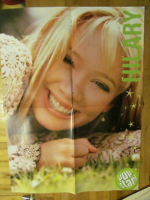 Hilary Duff, Good Charlotte, Double Sided Four Page Foldout Poster