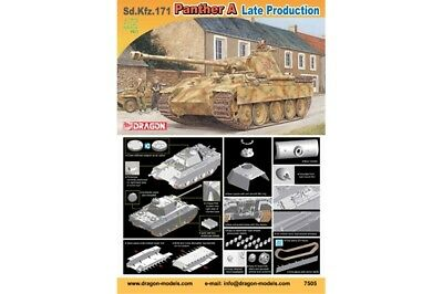 DRAGON 7505 - 1/72 WWII Dt. SDKFZ 171 PANTHER A (LATE) - NEU