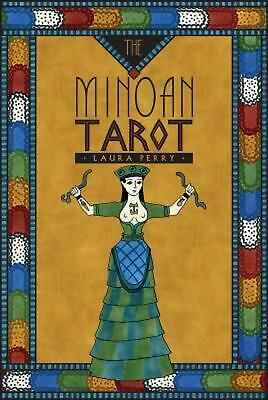 The Minoan Tarot by Laura Perry Hardcover Book (English)