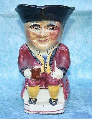 Antique Signed Torquay Pottery Ware Toby Jug