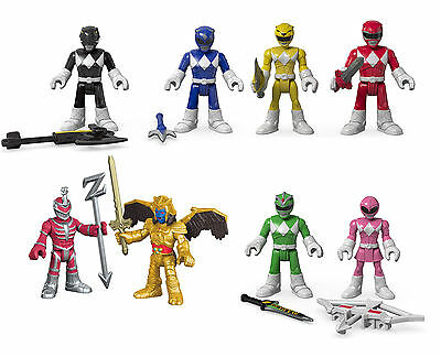 Fisher Price Imaginext Mighty Morphin Power Rangers Twin Pack NEW