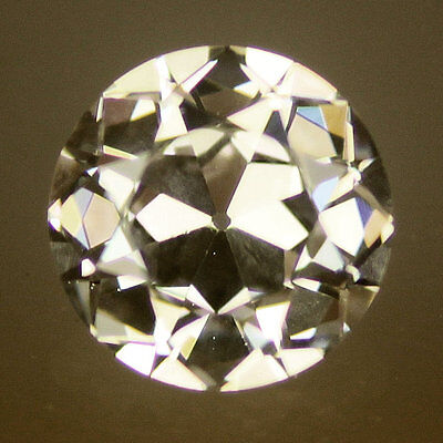Old European Cut Warm white 8mm Old European Cut Cubic Zirconia