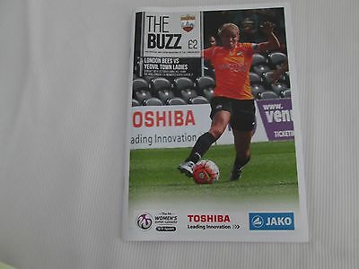 2016-17 WOMENS SUPER LEAGUE 2   LONDON BEES v YEOVIL TOWN LADIES