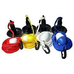 Mushroom Anchor Kit with 15' rope great for PWC's Canoes Available in 4 colors