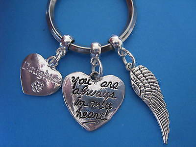 Daughter Bereavement Keyring In Memory of Daughter Sympathy Gift Daughter Angel