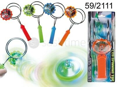 Magnetic Gyroscope Colour Changing Led Yoyo Fun Kids Gift Spinning Top Kinetic