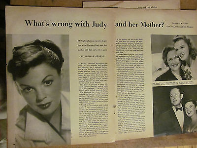 Judy Garland, Great Vintage Clipping