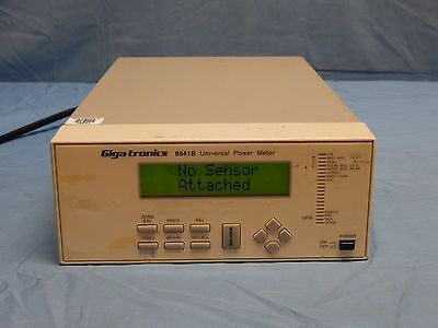 Gigatronics 8541B Single Channel Power Meter With Option 3 TESTED