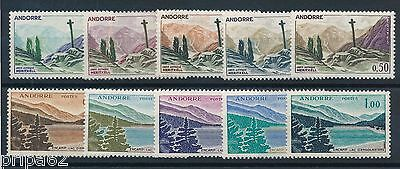 M1409 - ANDORRE - Timbres N° 158 à 164 Neufs**