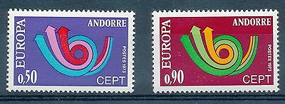 M1422 - ANDORRE - Timbres N° 226 et 227 Neufs**