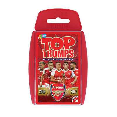 Top Trumps Specials New 2016/2017 Arsenal Fc Football Club Card Game