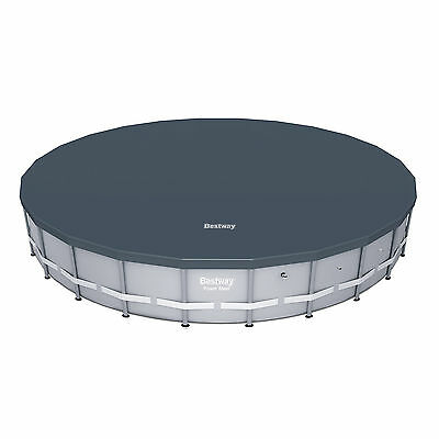Bestway 18' Round PVC Above Ground Pool Debris Cover for Steel ProTM Frame Pools