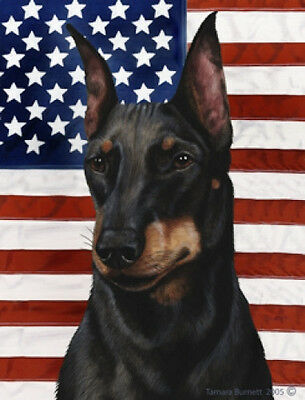 Garden Indoor/Outdoor Patriotic II Flag - Manchester Terrier 322491