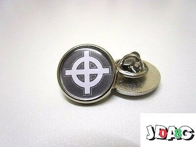 Pins Badge Croix Celtique - Celtic Cross - Nationalisme - Finition Argent Ou Or