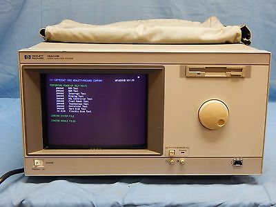 Hp Agilent 16500B Logic Analyzer With 16550A  State Timing Module TESTED