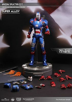 Play Imaginative Super Alloy 1/12 Scale Collectible Action Figure Iron Patriot
