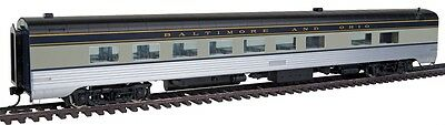 Walthers 920-9406 HO Baltimore & Ohio 85' P-S 56-Seat Full Dining Car Std