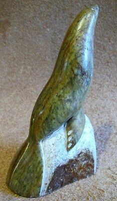 Stone Carving Seal Figurine Signed