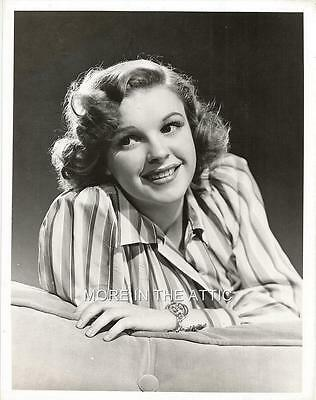 Young Judy Garland In Her Prime Hollywood Mgm Portrait Still #5