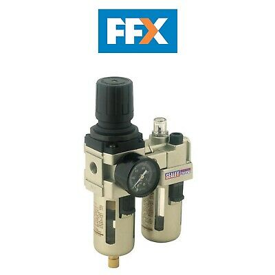Sealey SA106 Air Filter/Regulator/Lubricator Max Airflow 60cfm