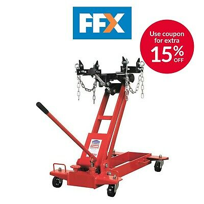 Sealey TJ1000F Transmission Jack 1Tonne Floor - Min - 185mm Max - 730mm