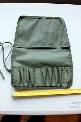 Unused Small Military Waterproof Magneto Tool Kit Roll Vintage Sa80 Gun Cleaning