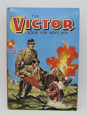 VICTOR Book for Boys 1974 Annual - Excellent - Tough of the Track Ripping Yarns