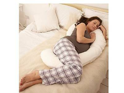 Pregnancy Support Pillow Maternity Mum To Be Full Body & Back Support Cushion